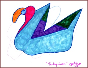 Left hand: Turkey-Swan